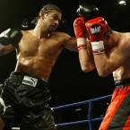 When he turned pro, Haye's career got off to a flyer as expected. In only his second professional contest, he knocked out Saber Zairi in the final round of their fight in Sheffield.