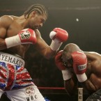 When he finally got his shot against WBA and WBC cruiserweight champ Jean-Marc Mormeck, Haye didn't let it slip, knocking the Frenchman out in seven rounds in Paris.
