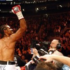 As the new WBA and WBC champion, Haye's first title defence was a 