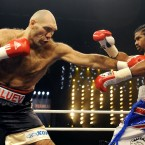 Before a fight against either Klitschko, however, Haye had to win a world title at heavyweight. He did that in November 2009 against Russian man-monster and part-time Yeti hunter Nikolai Valuev.