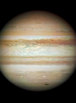 Jupiter: not a floundering boat. 