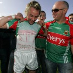 When Conor Mortimer scored in the 2009 Connacht final against Galway he took the time to pay tribute to the recently deceased King of Pop. And he even spelled Jackson's first name the Irish way.  