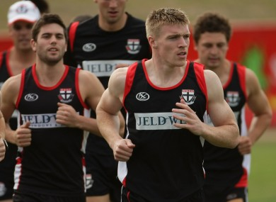 Walsh previously played for St Kilda's reserve side Sandringham.