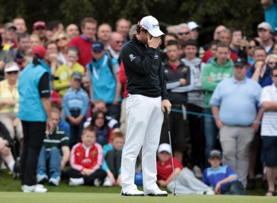 McIlroy unfollowed Westwood on Twitter recently.