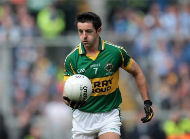 O'Mahony has been an important part of the Kerry side over the years.