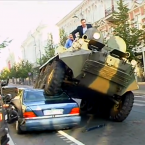 You might remember Arturas Zuokas, because he's been here before - we featured him when he published a video of him driving over a double-parked Mercedes in an armoured car (http://jrnl.ie/191474). His practical demonstration of how to overcome illegal parking won him the Ig Nobel peace prize.
