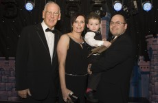 Little Liam receives bravery award