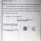 A copy of the complaint for annulment for Britney Spears and Jason Allen Alexander filed at the family court in Las Vegas, in 2004. This duo got married on a whim - and the marriage lasted as long. (AP Photo/Joe Cavaretta)