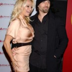 In 2007, Pamela Anderson married twice-divorced Rick Salomon in Las Vegas - 10 weeks later, they had separated, and by December they were divorced.  (pic: Tammie Arroyo/UK Press/Press Association Images)
