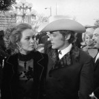 Actor Dennis Hopper met Mamas & Papas singer Michelle Phillips at an after-party in 1970. They married six months later... it lasted nine days. (AP Photo)