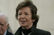 Mary Robinson addresses the Seanad on its role in her career