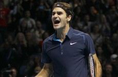 Vintage Federer defeats Tsonga, sets down marker for 2012