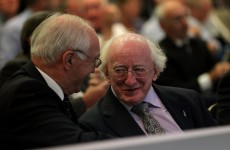 Galway United play their relegation wild card… Michael D. Higgins