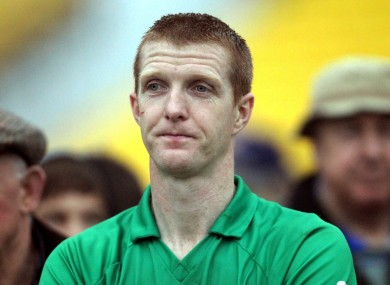 Ballyhale Shamrocks' Henry Shefflin dejected after their recent Kilkenny SHC final replay loss to James Stephens.
