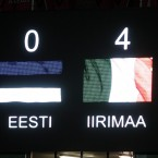 Explains itself really. The final score in last night's Euro 2012 qualification play-off first leg. Come on the boys in green!