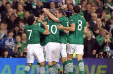 Movin' on up: Ireland placed 21st in latest FIFA World Rankings