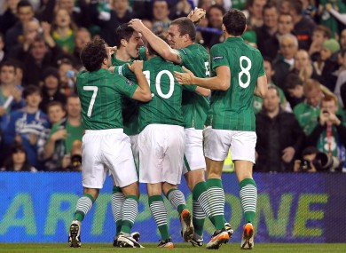 Ireland secured Euro 2012 qualification earlier this month with an aggregate victory over Estonia.
