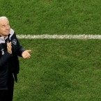 Ireland manager Giovanni Trapattoni at the final whistle.