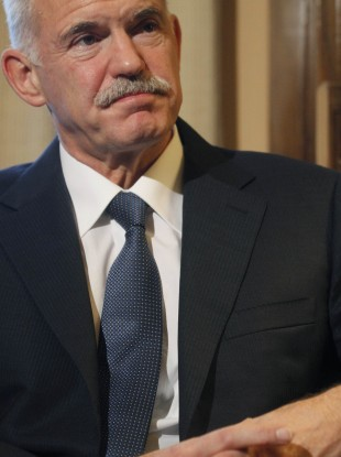 Greek PM George Papandreou
