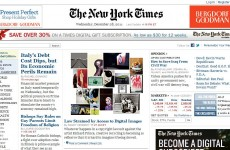 New York Times accidentally sends email to over 8 million readers