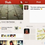 None of this would work if there were two different avenues for Path. Facebook has a smaller, more seamless version on a smartphone and a large and much more clunky version on the web. Path, by comparison, forces you to check your smartphone — and you're better off doing that. 