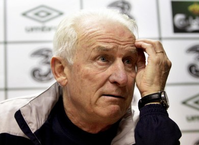 Giovanni Trapattoni: down one spot.