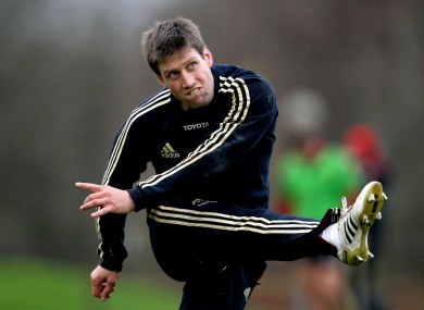 100 not out: Ronan O'Gara is in line for a European Cup milestone.