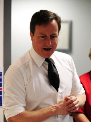 David Cameron had to explain away his Tourettes comment 