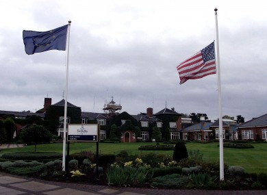 The resort has hosted four Ryder Cups.
