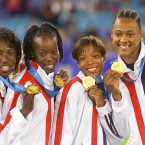 USA athlete Marion Jones won 5 golds at the Olympics including with the 4 x 400m relay team. She admitted taking performance-enhancing drugs after a long inquiry and was stripped of her medals in 2007. Some of her relay team-mates also lost theirs.