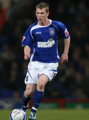 Shane O'Connor in action for Ipswich.