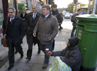 Members of the Troika on one of their first visits to Dublin as Ireland's first bailout programme was finalised in 2010.