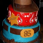 Two cowboy hats (cake not included) (Frosted with Emotion on Flickr)