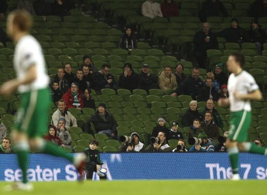 Poor show: Last year's Carling Nations Cup was plagued by poor attendance figures.