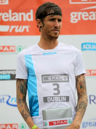 Fagan after finishing third in the Spar Great Ireland Run last year.