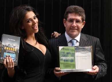 Obviously: Kimmage with Georgia Salpa.