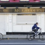A closed down McGruders pub on Thomas Street in Dublin. Photo: Sasko Lazarov/Photocall Ireland