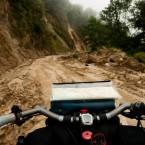 The roads aren't always so smooth in Guatemala.