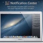 One of the most popular new features in iOS 5 is the Notifications Centre - and now that will be on Mac. The Notifications Centre appears in the right of your screen and displays all your messages, iCal events and notifications from apps.