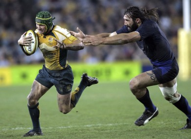 Chebal following in Matt Giteau's footsteps
