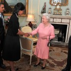 US President Barack Obama and his wife, Michelle, talk with Queen Elizabeth II and the Duke of Edinburgh during an audience at Buckingham Palace in London in 2009, early into Obama's tenure. He infamously presented the Queen with an iPod containing videos of his campaign speeches.