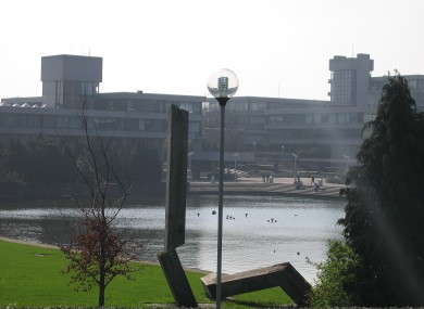 The Tierney and Newman Buildings, Belfield campus, UCD. (File photo)