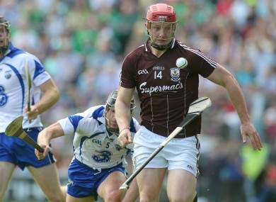 Joe Canning: facing six weeks on the sidelines injured.