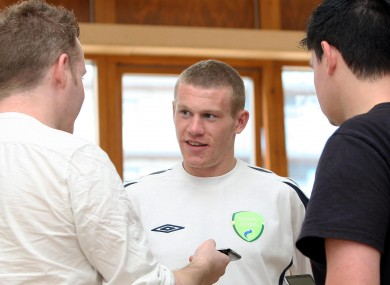 Sunderland's James McClean (file photo).