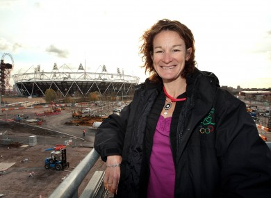 Sonia O'Sullivan at the Olympic Park in London recently.