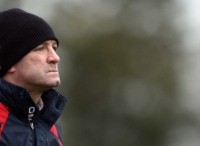 Cork manager Jimmy Barry Murphy is back in the swing with the Rebels.