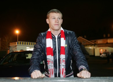 James McClean: the new guy.