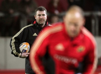 Anthony Foley: new role.