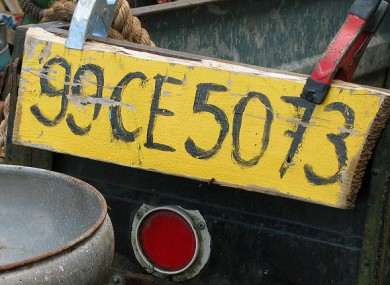Not quite a cherished number...Revenue made €166,000 on chosen licence plates for vehicles
