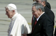 Pope arrives in Cuba for three-day visit